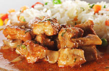 Pork with Rice