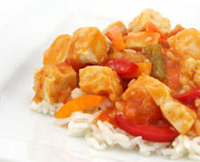 Chicken with Rice and Tomatoes
