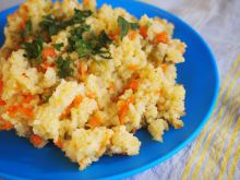 Rice with Curry and Carrots