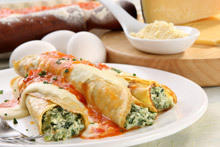 Moroccan Pancakes with Stuffing