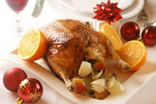 Stuffed Chicken with Apples and Raisins