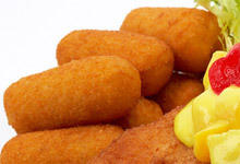 Potato Croquettes with Garlic