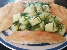 Crumbed White Fish with Dill