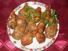 Breaded Chicken Drumsticks with Beer and Fresh Spices