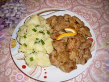 Fried Pork with Lots of Onions