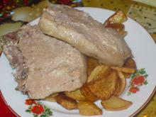 Tender Pork Steaks with Milk