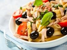 Salad with Tuna and Pasta