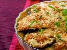 Eggplant with Peppers and Tomatoes