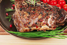 Stuffed Lamb Shoulder for Easter