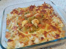 Oven-Baked Chicken Breasts with Bechamel
