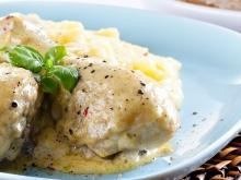 Chicken in Cream Sauce