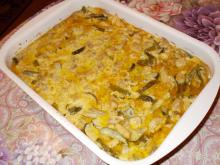 Homemade Chicken Julienne with Mushrooms, Cream and Pickles