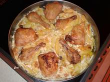 Chicken with Potatoes and Mayonnaise