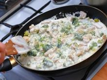 Chicken with Broccoli and Mushrooms