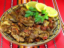 Chicken Livers with Onion