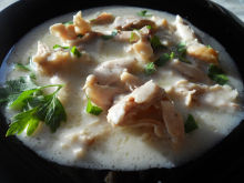 Chicken Fricassee with Milk
