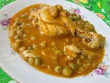 Chicken Stew with Peas