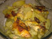 Chicken with Potatoes and Spices