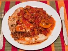 Chicken Stew with Tomatoes
