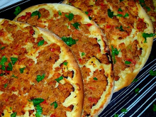 Turkish-Style Pizza