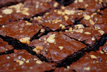 Brownies with Walnuts, Vanilla and Cocoa