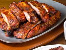 Pork Ribs in the Oven with Caramel Marinade