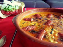 Oven-Baked Beans with Sausage