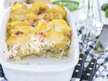 Potato Gratin with Garlic