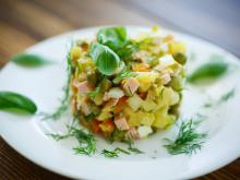 Latvian Spicy Potato Salad
