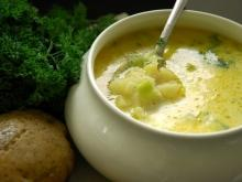 Potato Soup with Garlic