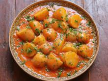 Belarusian Stew with Quince and Potatoes