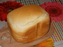 Fluffy White Bread in Breadmaker