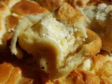 Fluffy Tutmanik with Eggs and Feta Cheese