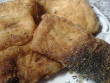 Fried Bighead Carp Fillets