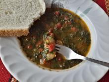 Spinach and Tomato Stew