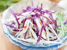 Dutch Salad of Red and White Cabbage
