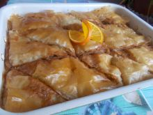 Retro Baklava with Filling
