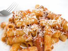 Rigatoni with Pumpkin and Ricotta