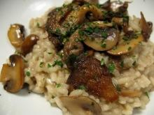 Risotto with Mushrooms and Meat