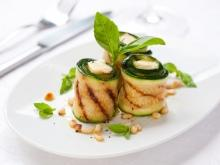 Zucchini Rolls with Filling