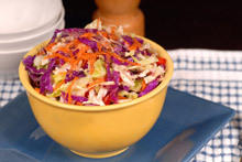 Colorful Salad with Chinese Cabbage