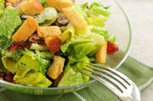 Caesar Salad with a Special Dressing
