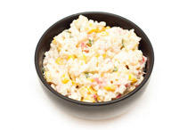 Salad with Mayonnaise and Corn