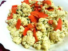 Salad with Cauliflower and Carrots