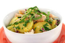 Potato Salad with Chicken