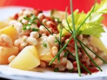 Bean Salad with Potatoes