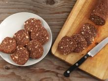Sweet Salami with Walnuts