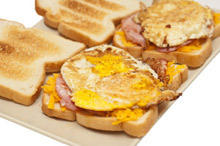Sandwiches with Egg and Gouda