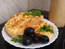 Feta Cheese and Egg Sandwich
