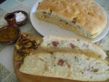 Village-Style Bread with Sausage and Walnuts